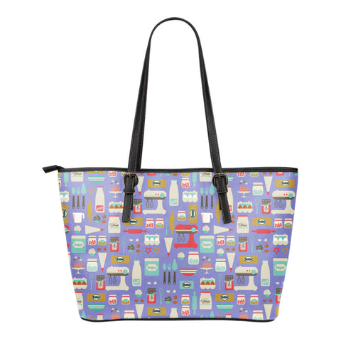 Baking Pattern Tote Bag