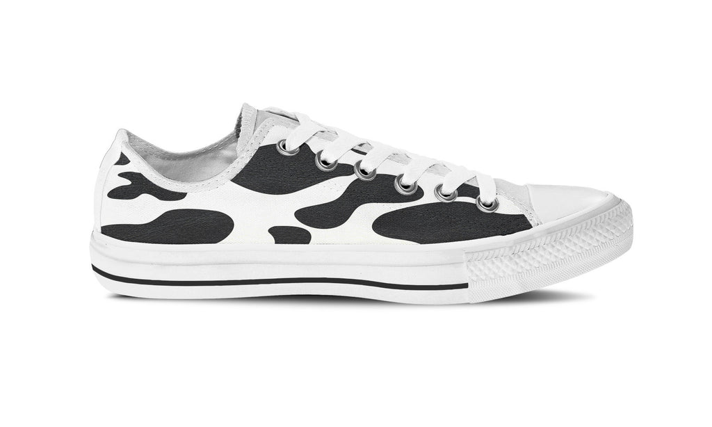 Cow Print Low Top