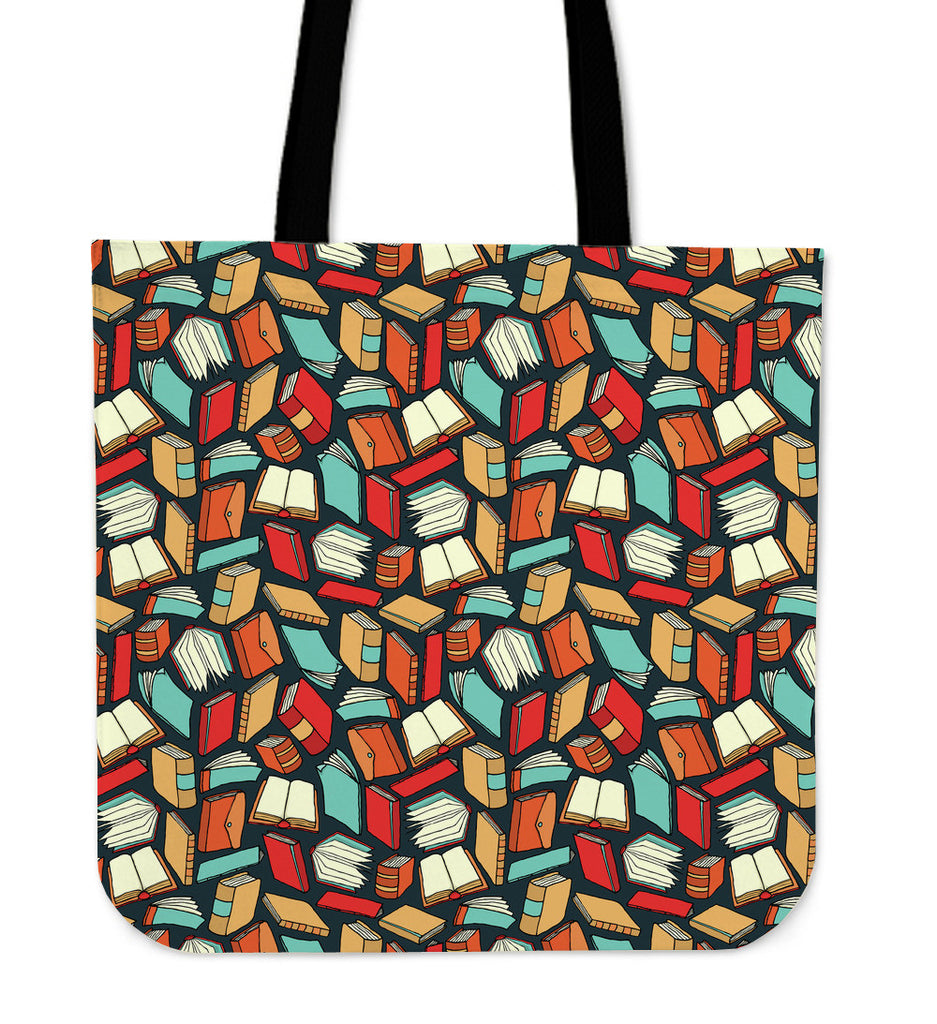 Book Lovers Linen Tote