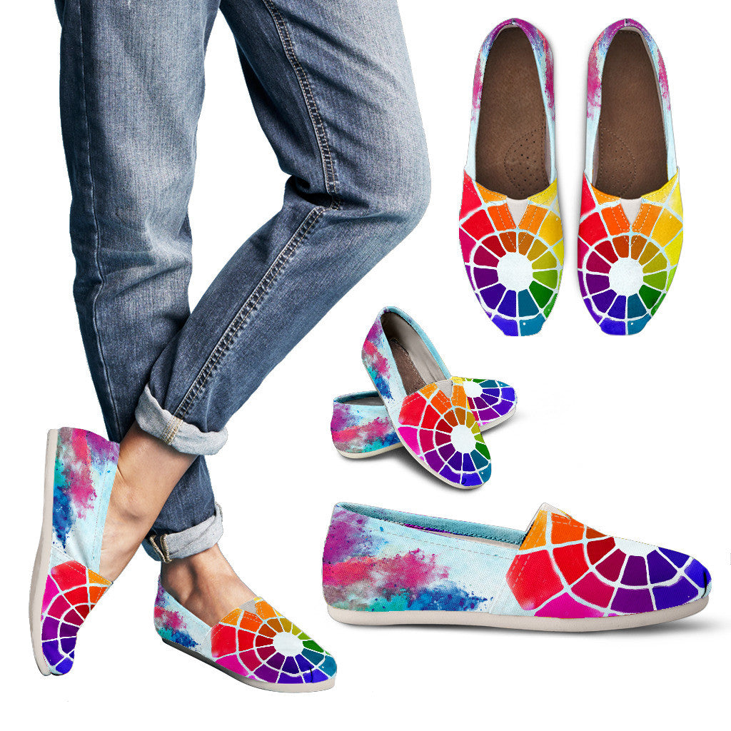 Color Wheel Casual Shoes-Clearance