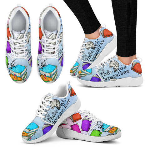 Book Reader Athletic Sneakers