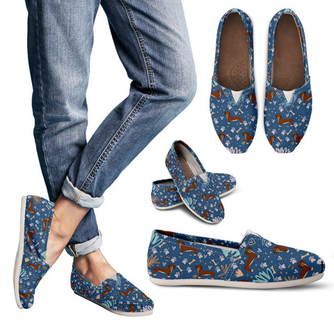 Playful Dachshund Casual Shoes-Clearance