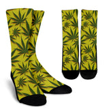 Cannabis Pattern Socks