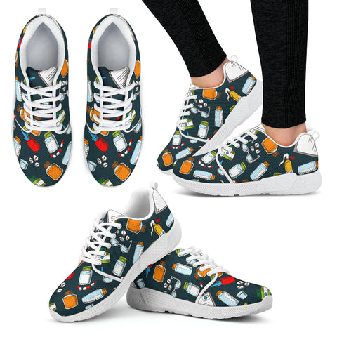 Pharmacist Pattern Athletic Sneaker