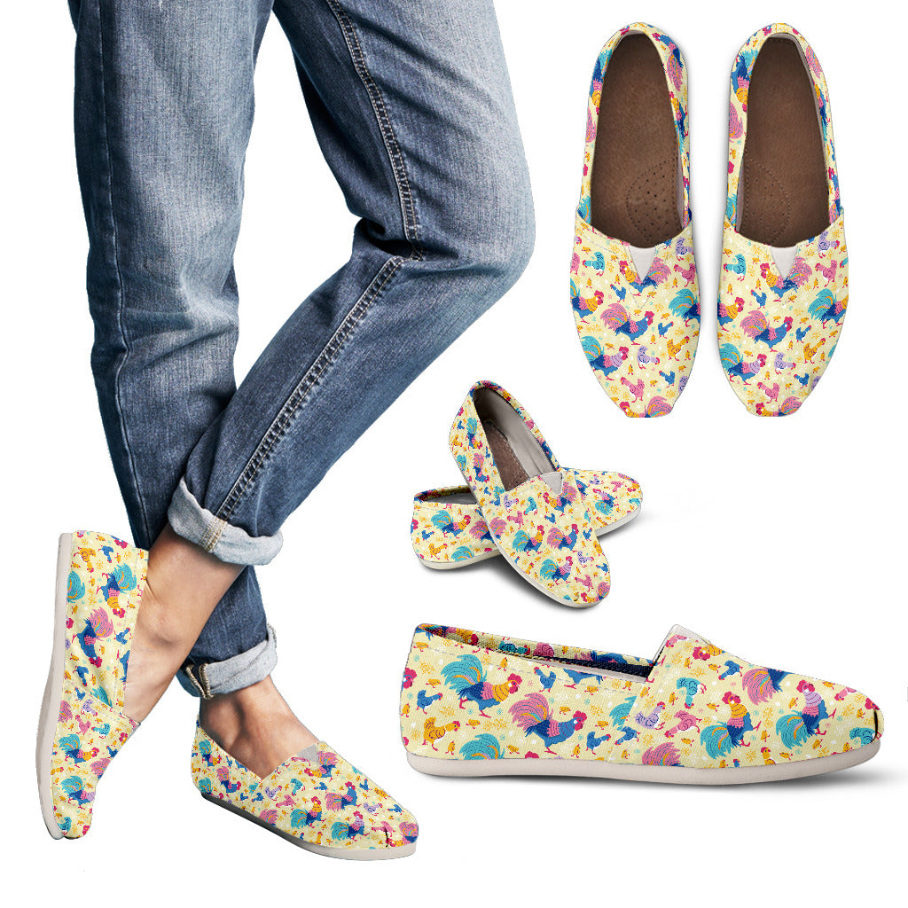 Rainbow Chicken Casual Shoes-Clearance