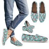 Bull Terrier Flower Casual Shoes-Clearance