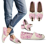Cancer Awareness Tree Casual Shoes