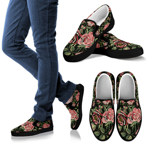 Embroidery Style Slip Ons-Clearance