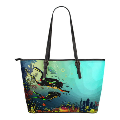 Scuba Diving Tote Bag