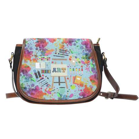 Art Teacher Saddle Bag