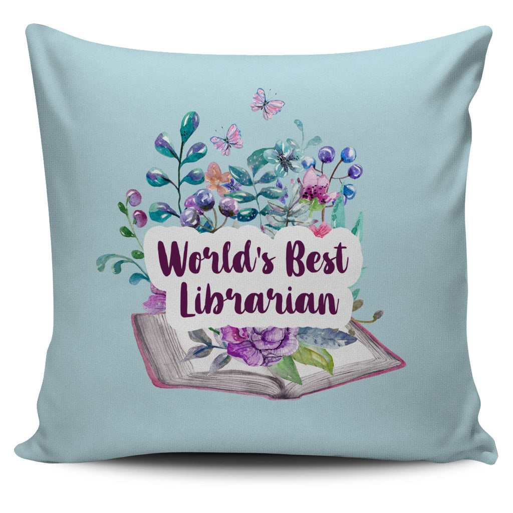 Best Librarian Pillow Cover