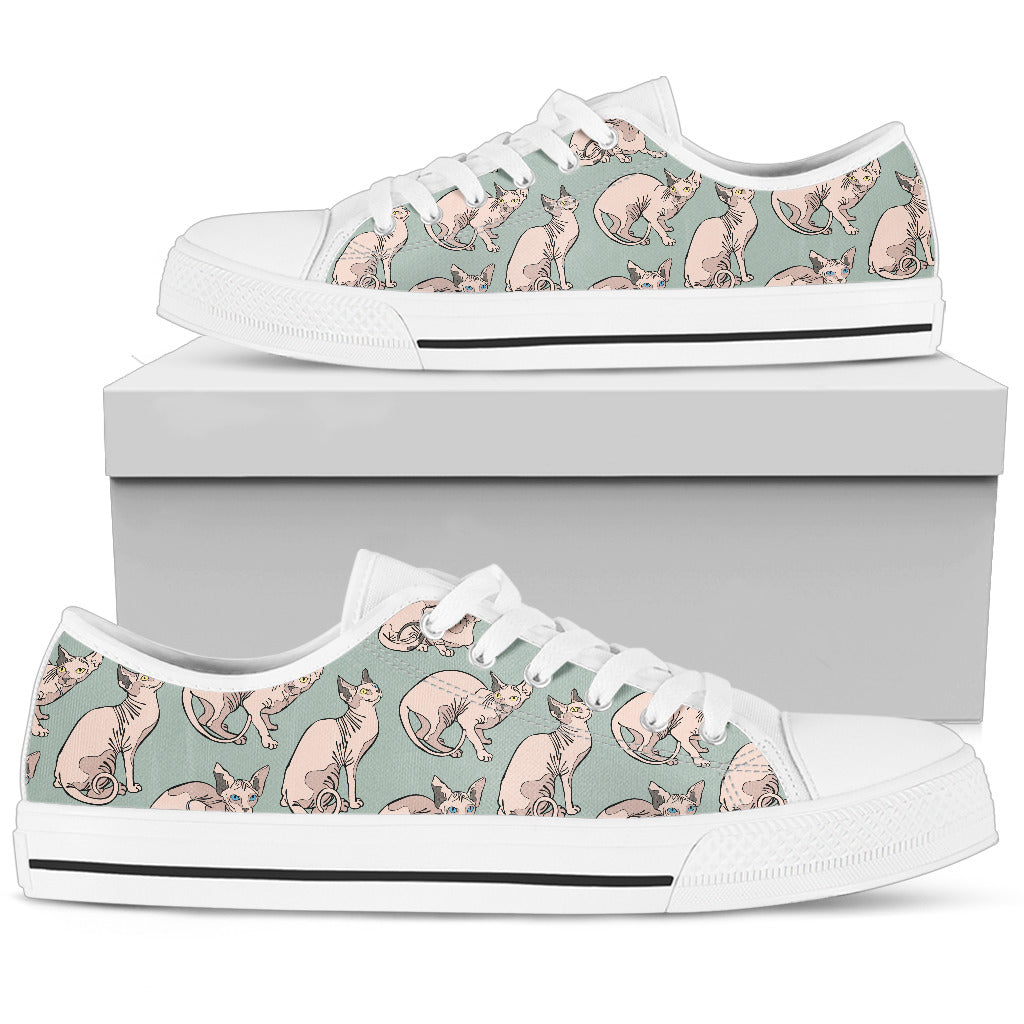 Sphynx Pattern Low Top Shoes – Groove Bags