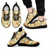 Golf Pattern Sneakers