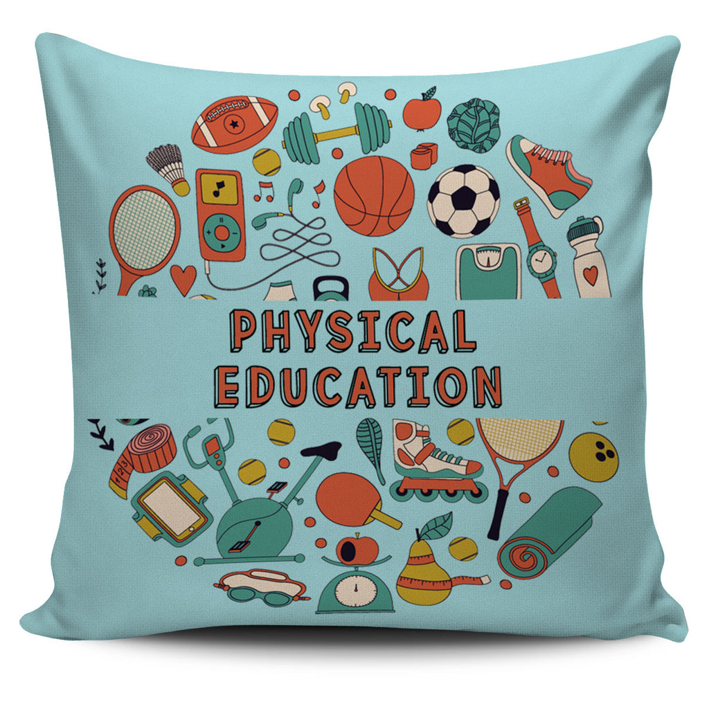P.E Teacher Pillow Cover