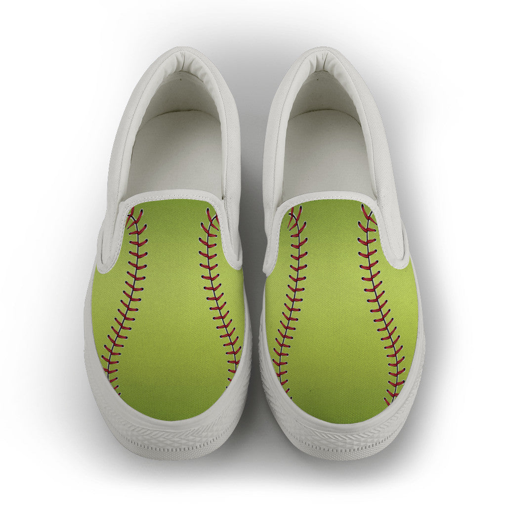 Soft Ball Slip On Shoes