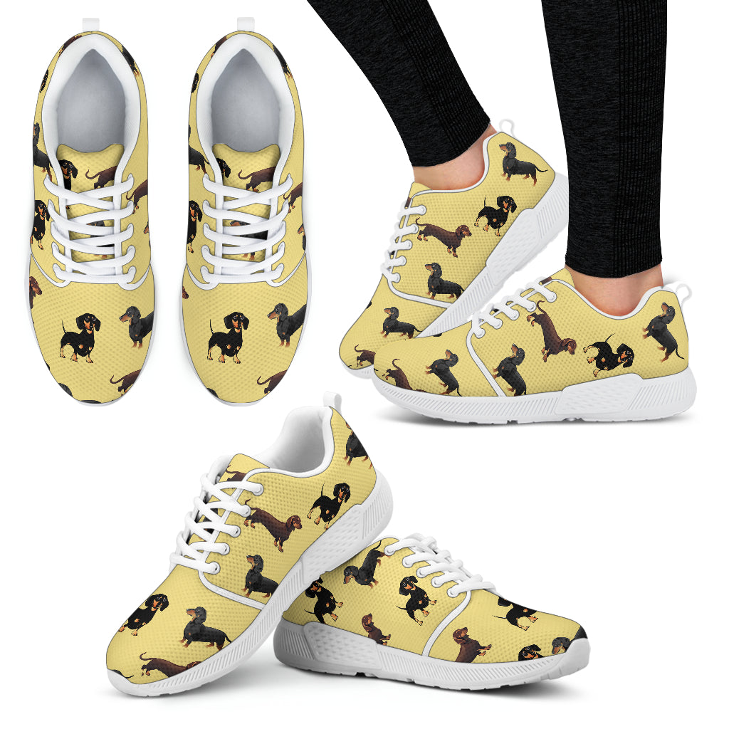 Dachshund Athletic Sneakers