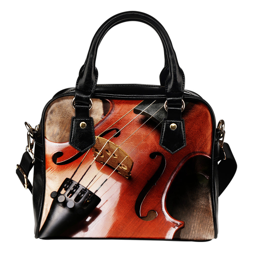 Violin Shoulder Handbag