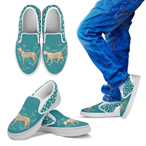 Kids Veterinary Diagram Shoes