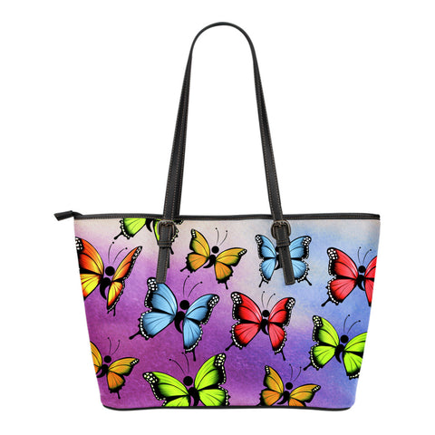 Semicolon Butterfly Tote Bag