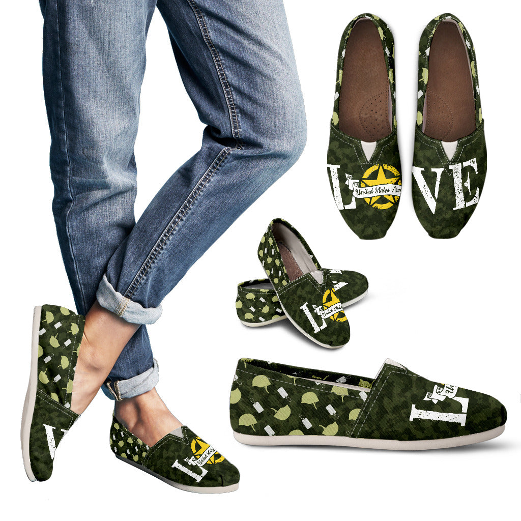U.S Army Love Casual Shoes