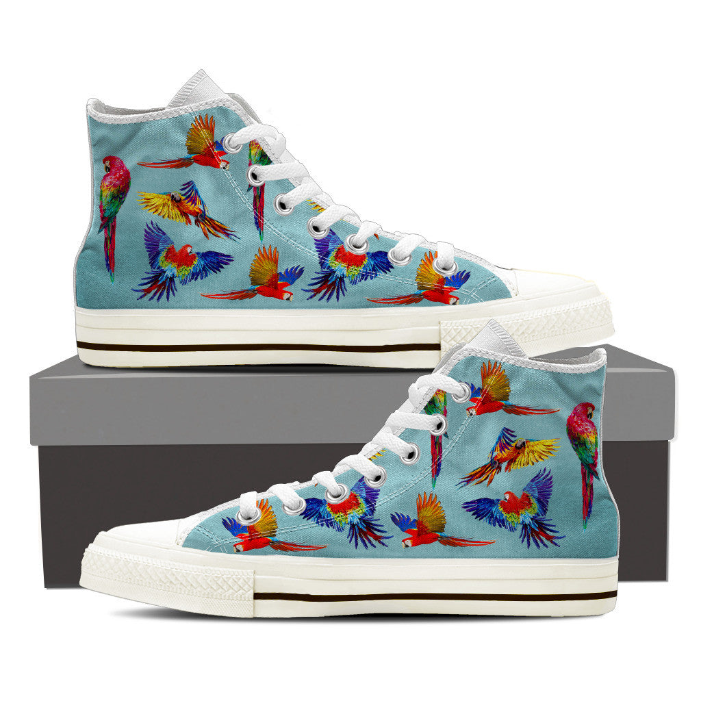 Parrot Pattern Shoes