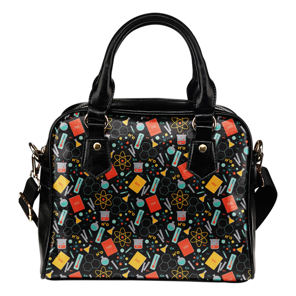 Scientist Pattern Handbag