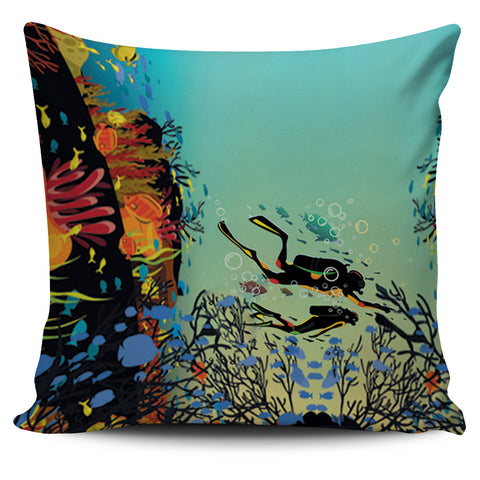 Scuba Pillow Cover