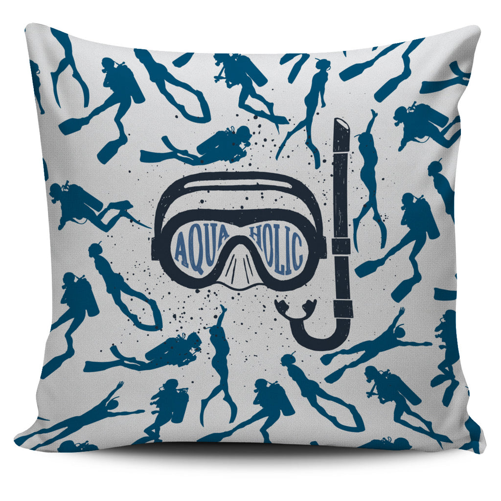 Aquaholic Pillow Cover