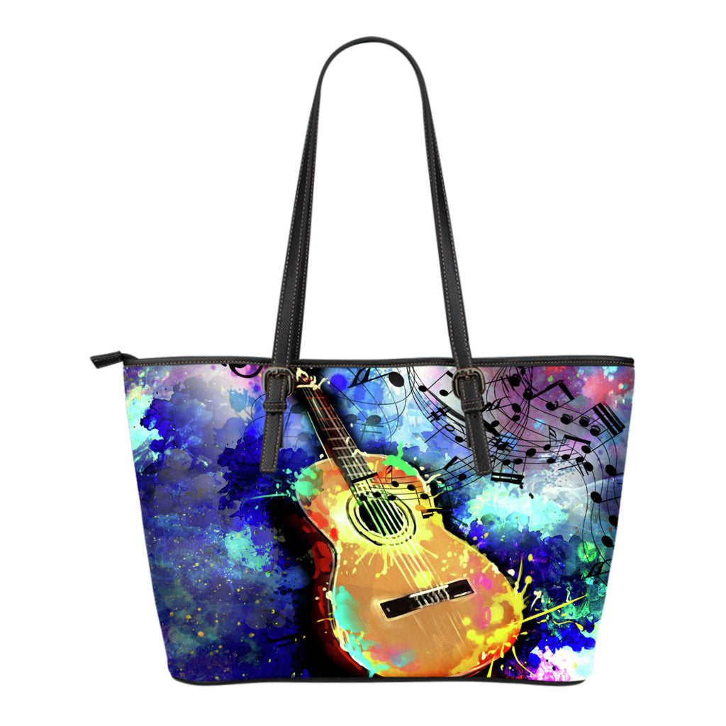 Artistic Guitar Tote Bag