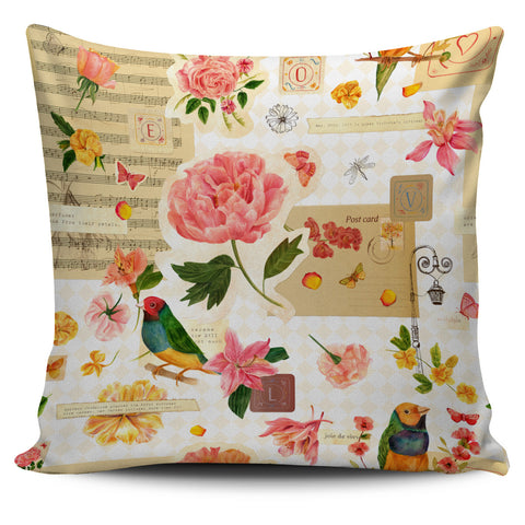 Nature Music Pillow Cover