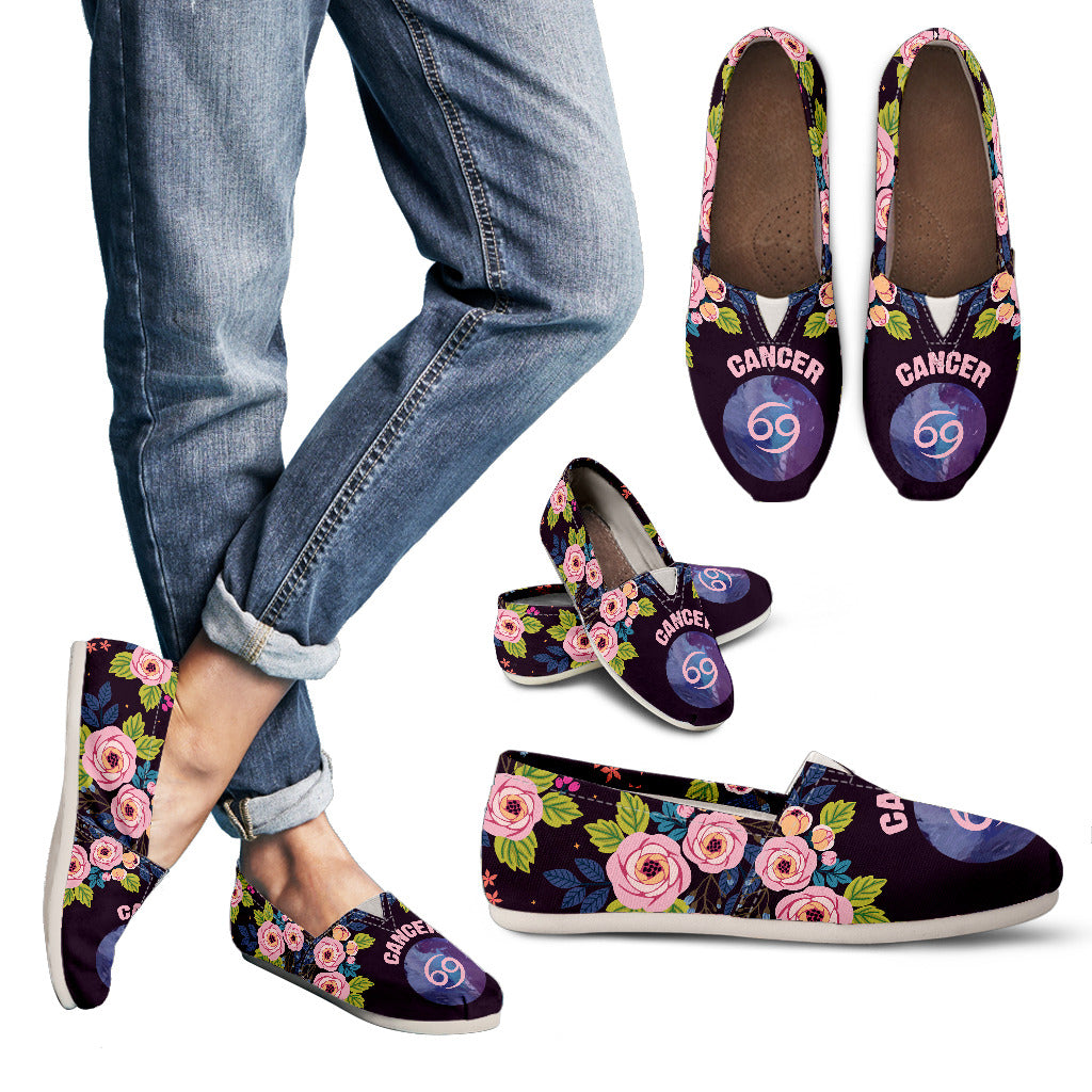 Cancer Vibes Casual Shoes