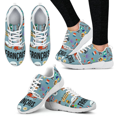 French Teacher Athletic Sneakers
