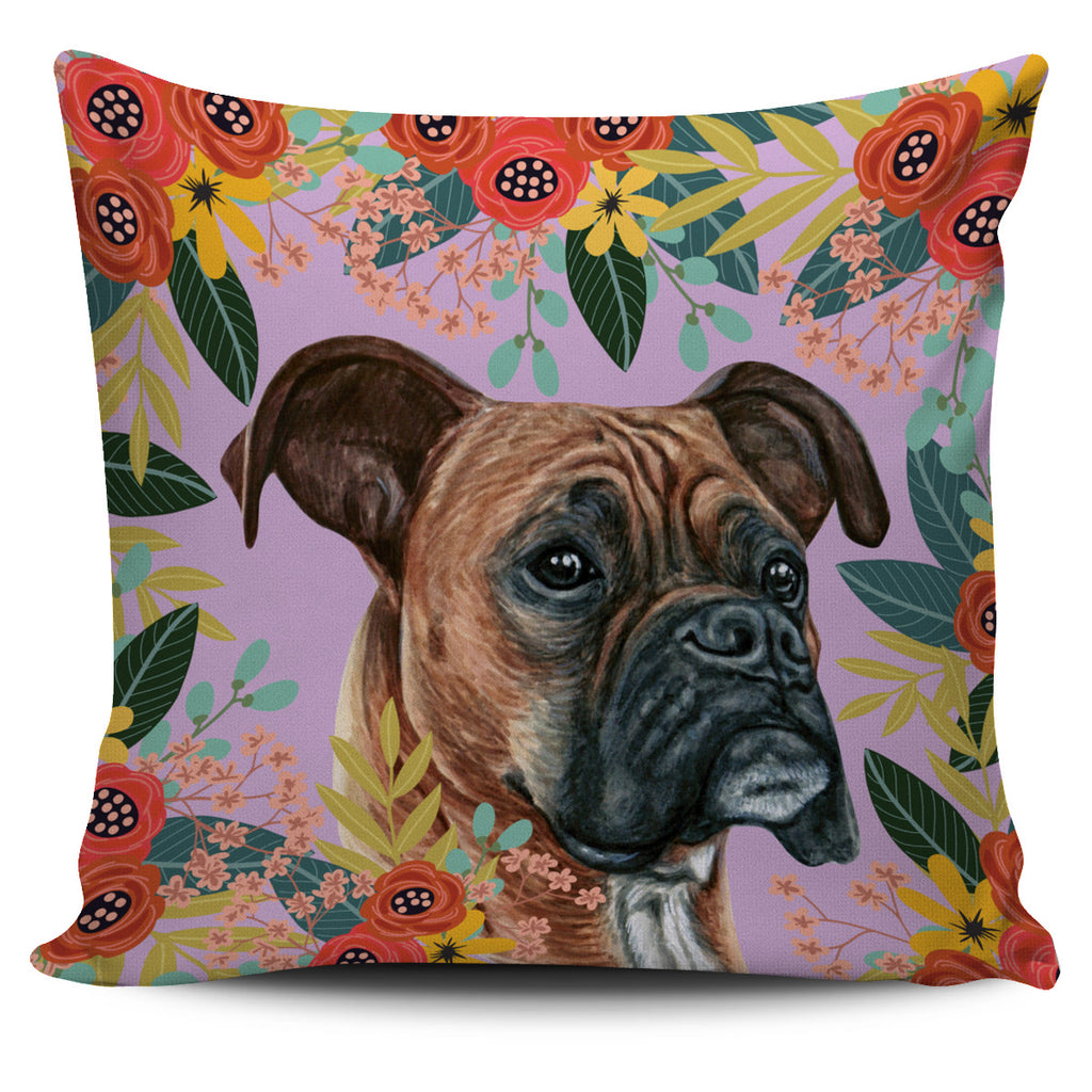 Joyful Boxer Pillow Cover