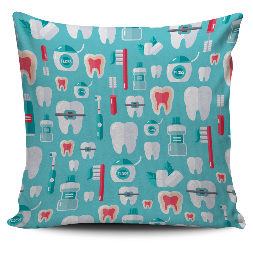 Dentist Pattern Pillow Cover