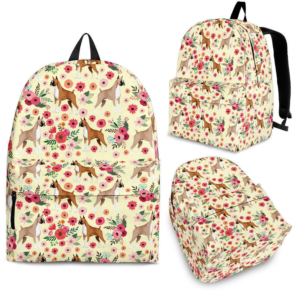 154eed923 Boxer Flower Backpack – Groove Bags