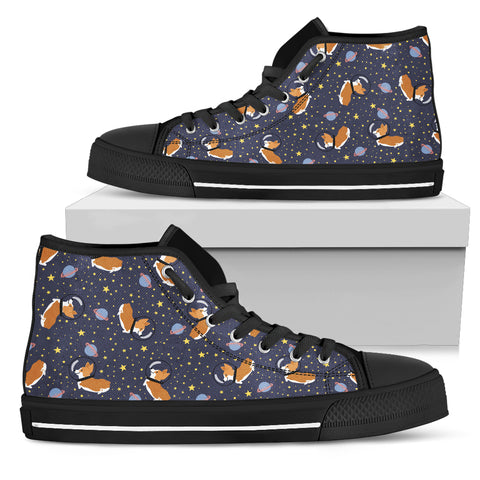 Space Corgi High Top