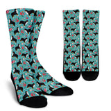 Bernese Mountain Dog Flower Socks - Promo