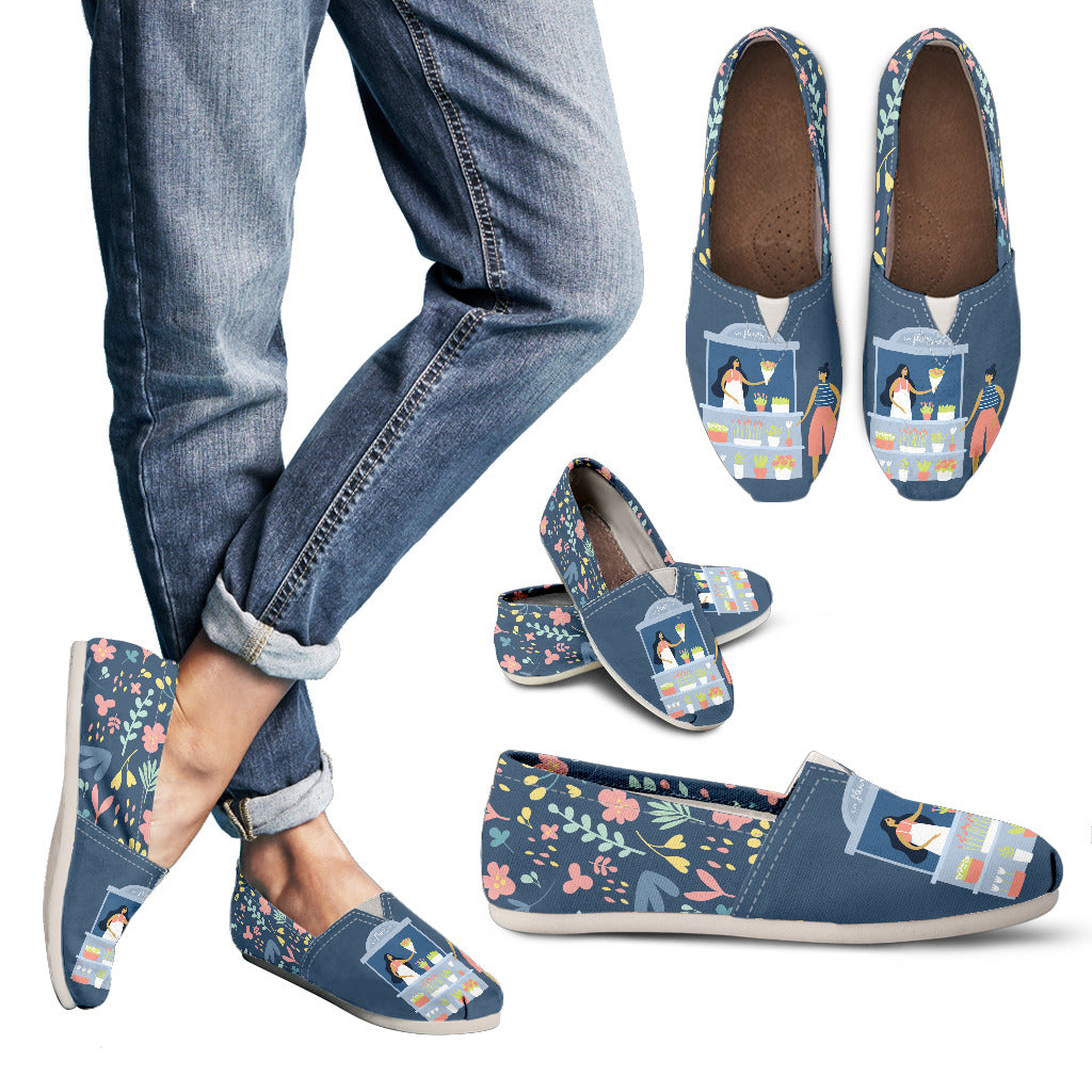 Adorable Florist Casual Shoes
