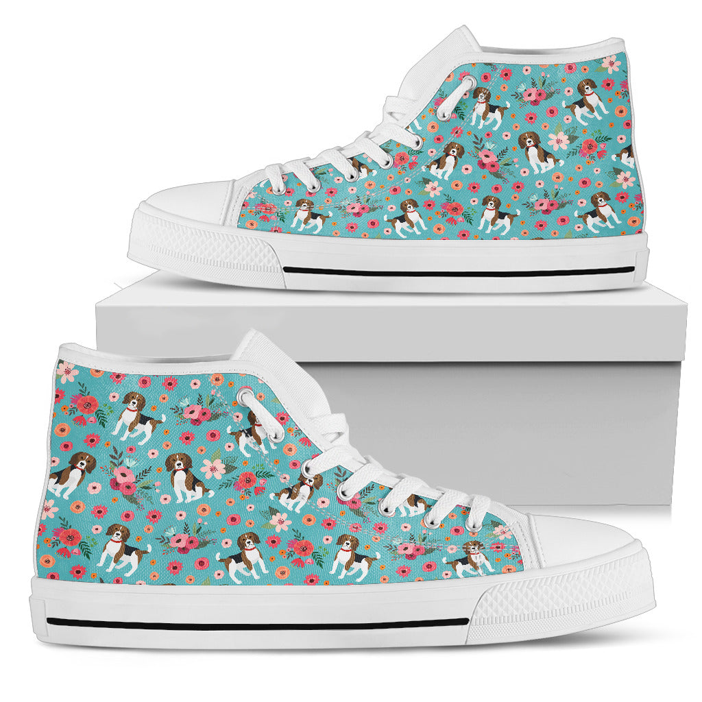 Beagle Flower Shoes