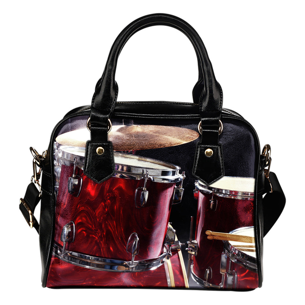 Drums Shoulder Handbag