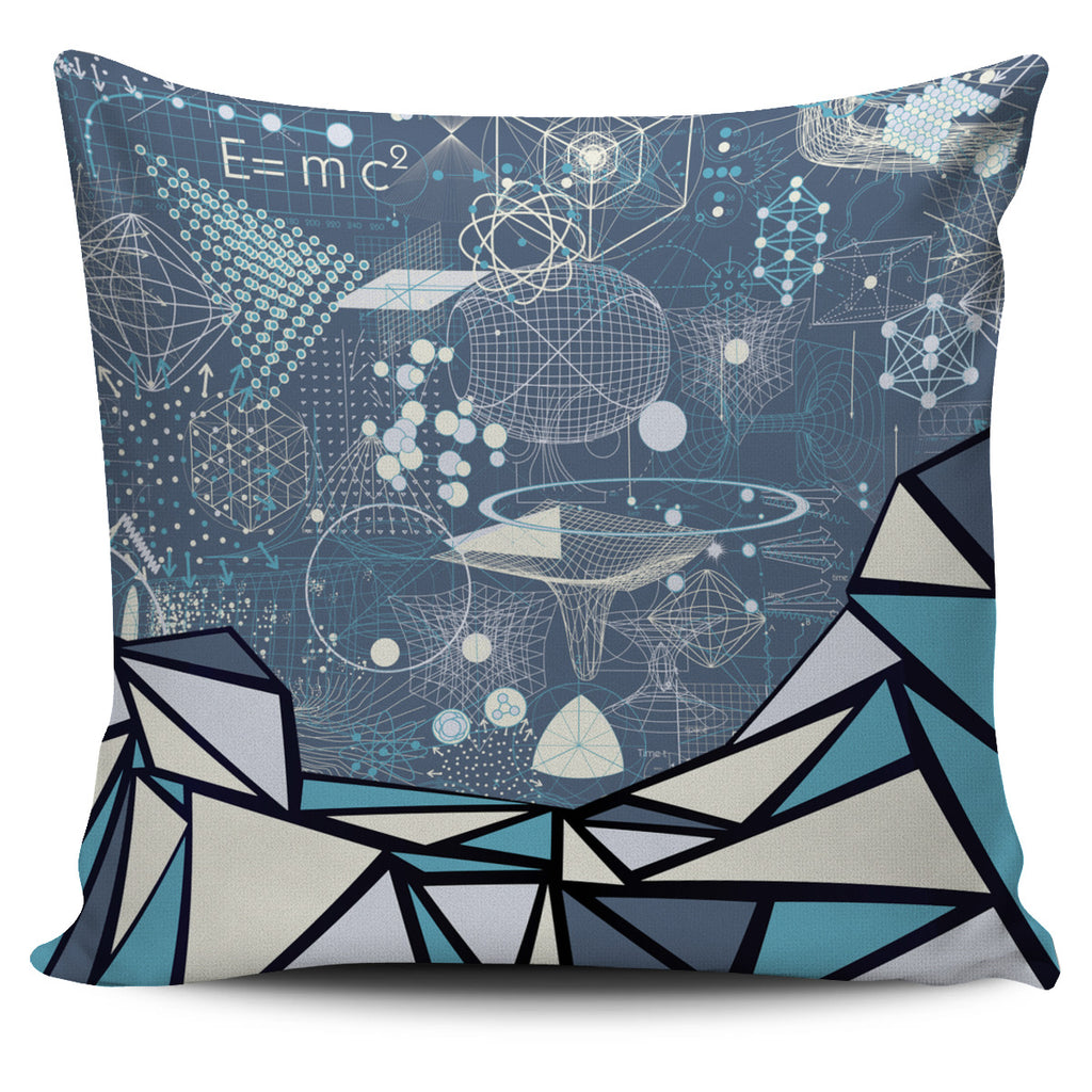 Geometric Geometry Pillow Cover