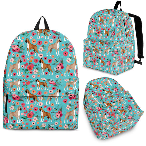 Boxer Floral Backpack
