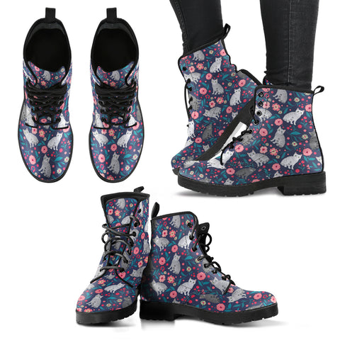 American Shorthair Cat Flower Boots-Clearance