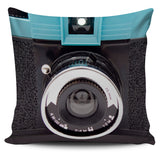 Vintage Camera Pillow Covers