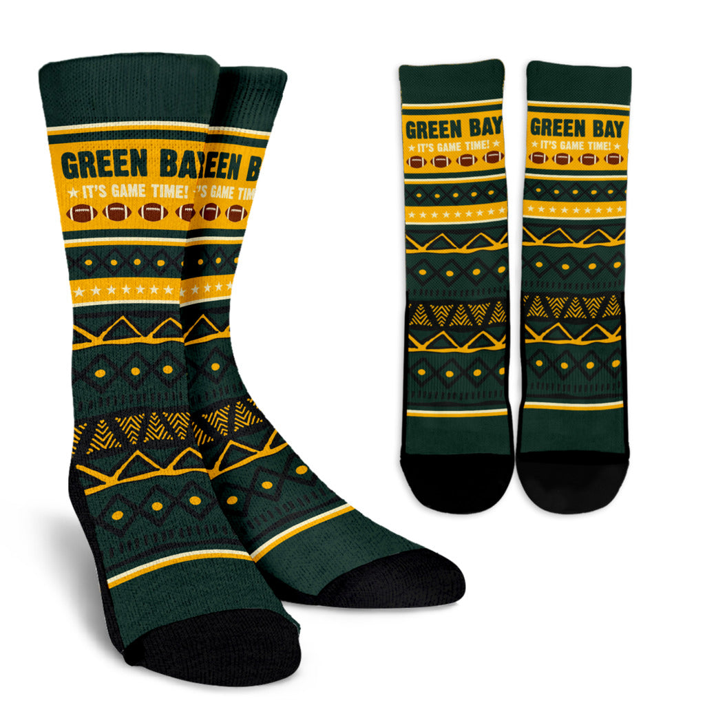 Green Bay Football Socks