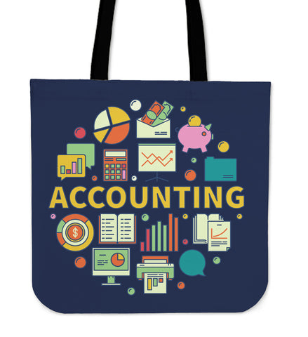 Accountant Linen Tote Bag