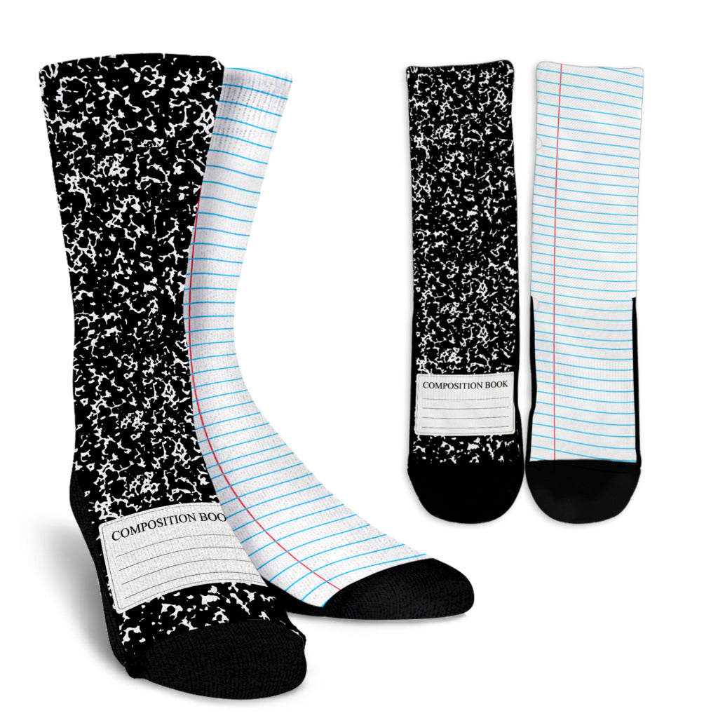 Writer's Notepad Socks