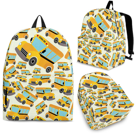 School Bus Backpack