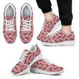 Clydesdale Floral Athletic Sneakers-Clearance