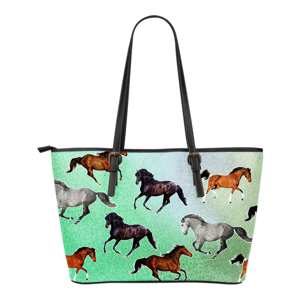 Horse Pattern Tote Bag